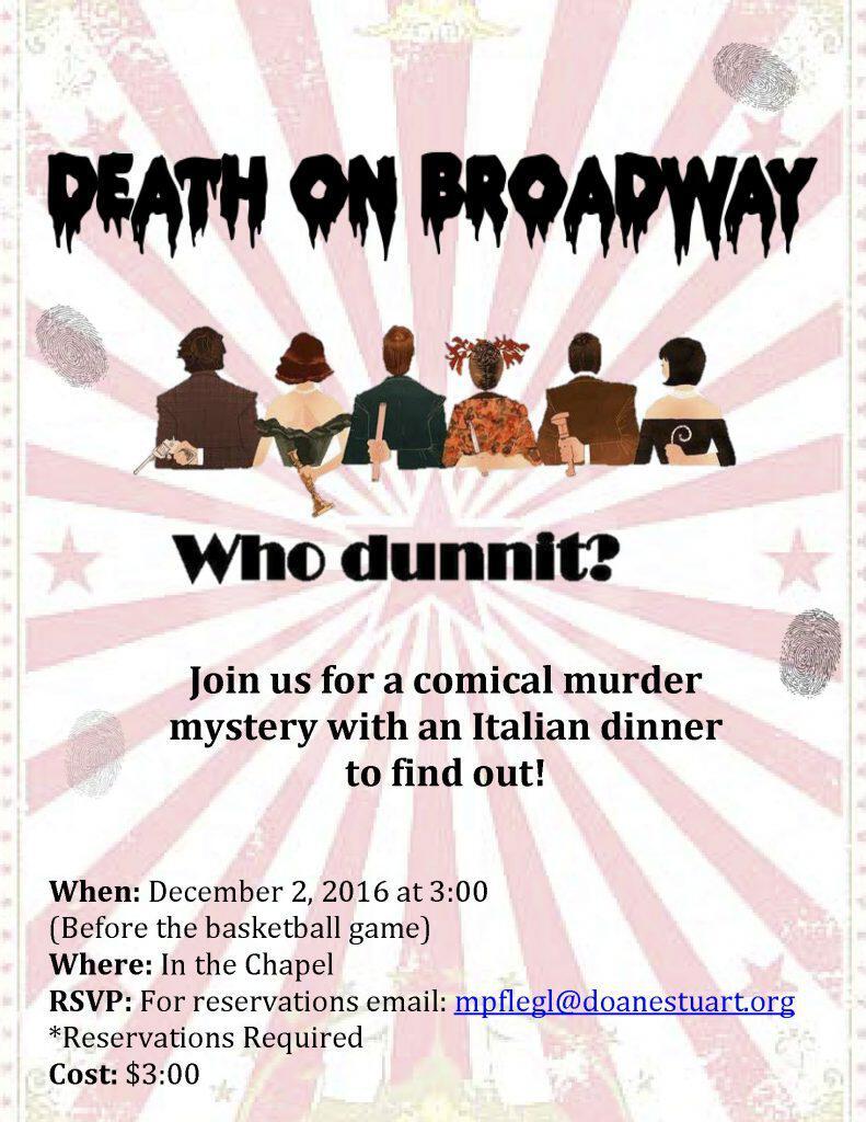 Death on Broadway - A Murder Mystery