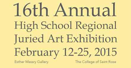 Four Students Selected for High School Regional Juried Exhibition