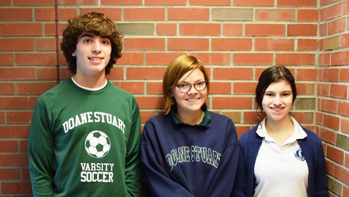 Three Seniors Named National Merit Commended Scholars