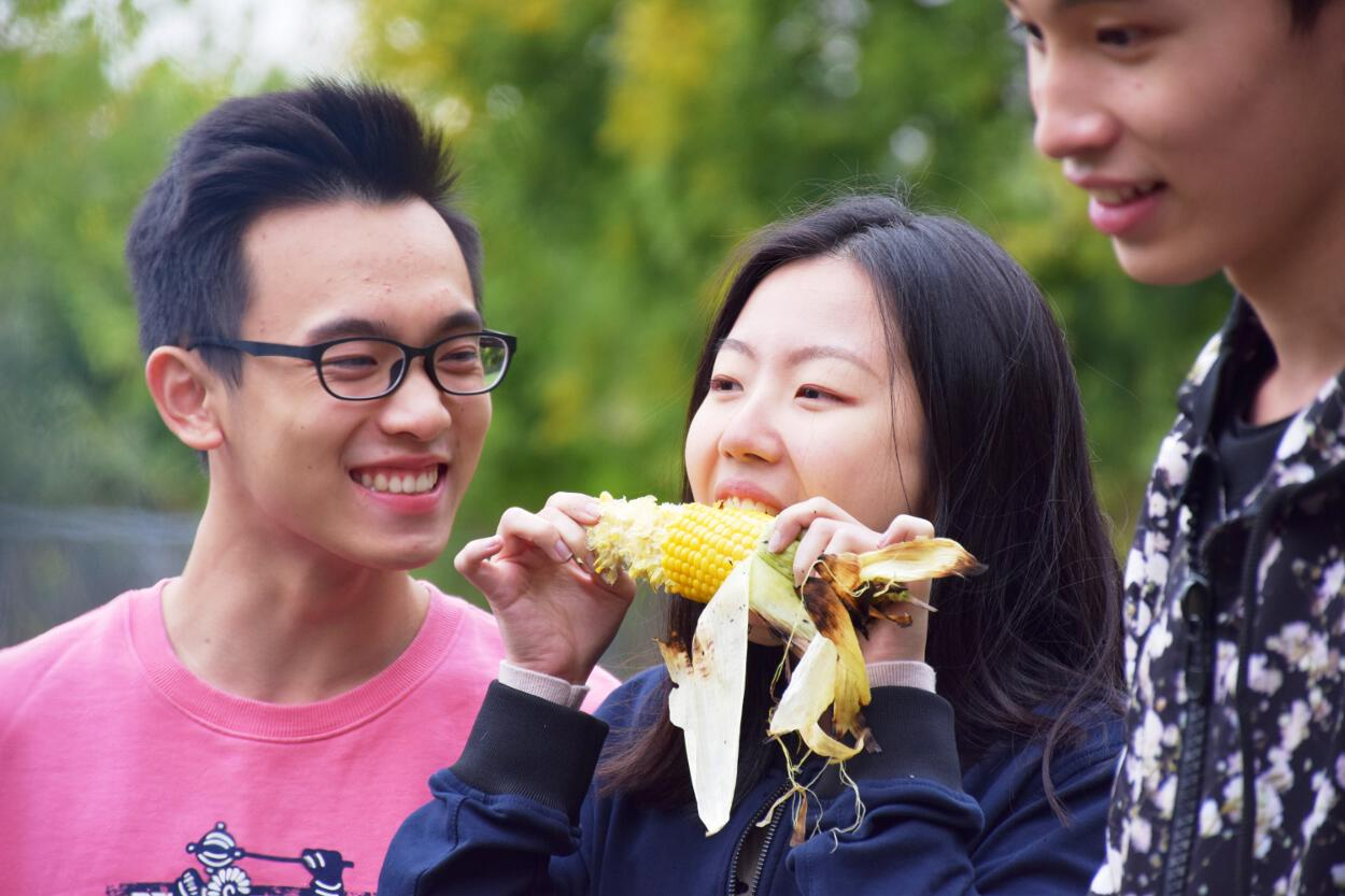 Upper School Corn Roast