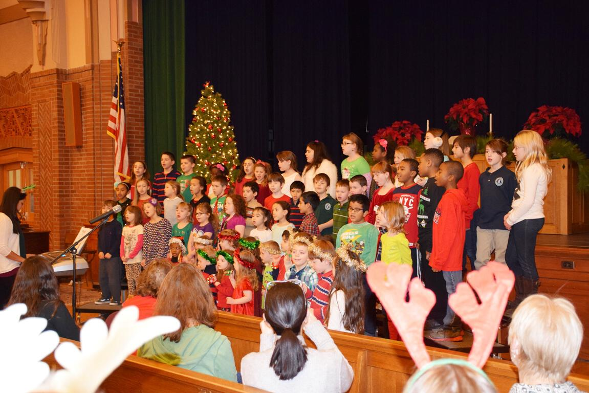 Lower School Holiday Sing-Along