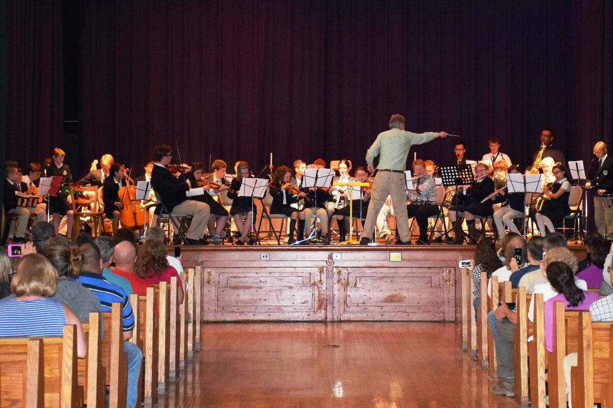 Middle and Upper School Band Concert