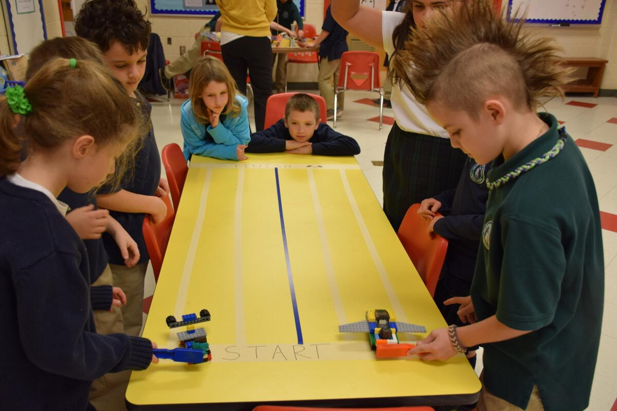 2015 2016 3rd And 4th Grade Stem Collaboration Magnetic