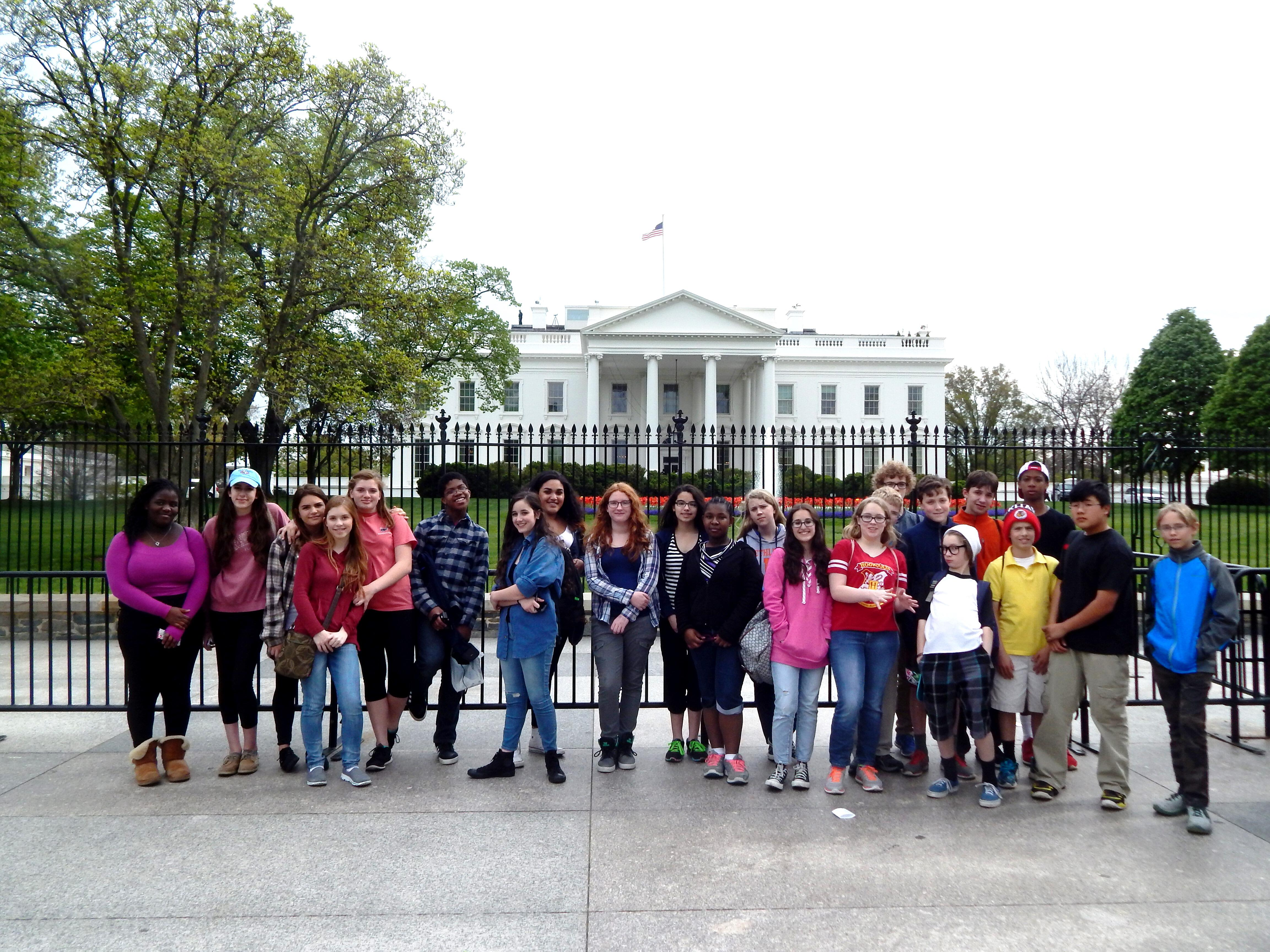 Annual 8th Grade Trip to Washington, DC