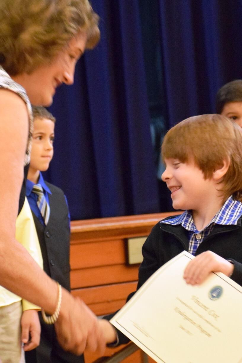 Early Childhood, Kindergarten and First Grade Moving Up Ceremony