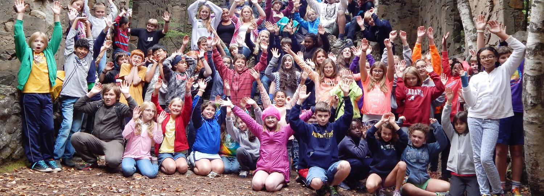 Middle School Community Building Days at Skye Farm