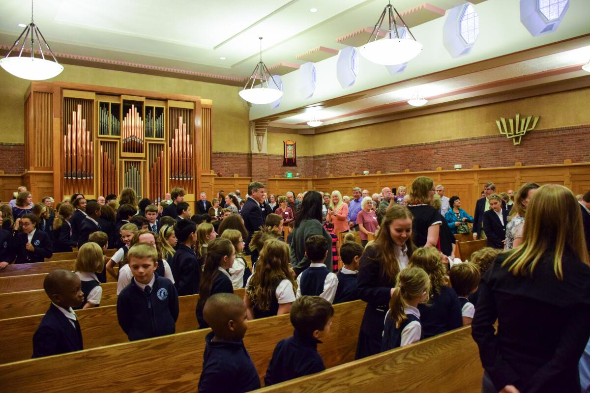 All-School Thanksgiving Chapel (Dress Uniform)