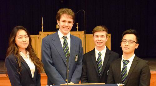 Election 2016 At Doane Stuart Doane Stuart