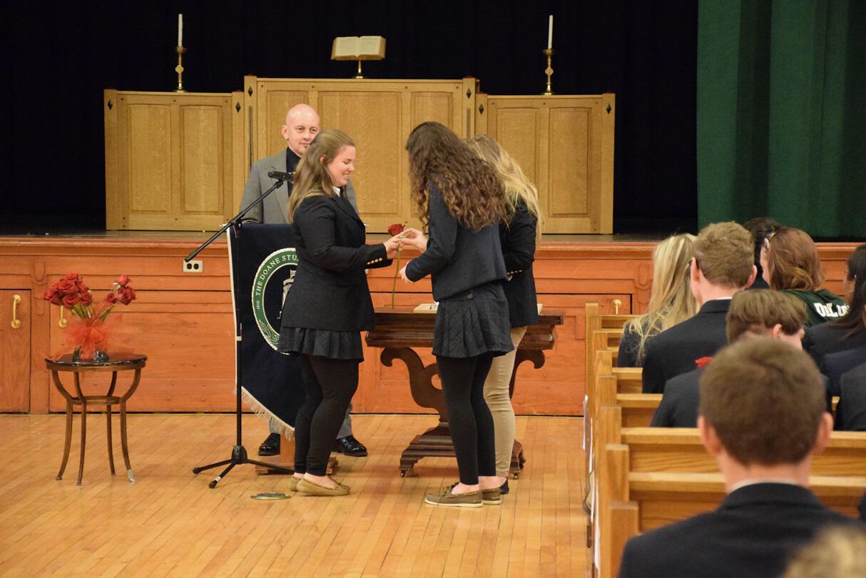 Upper School Ring Ceremony