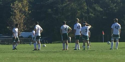 boys soccer versus hoosic valley