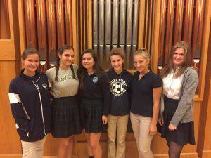 DS girls soccer award winners