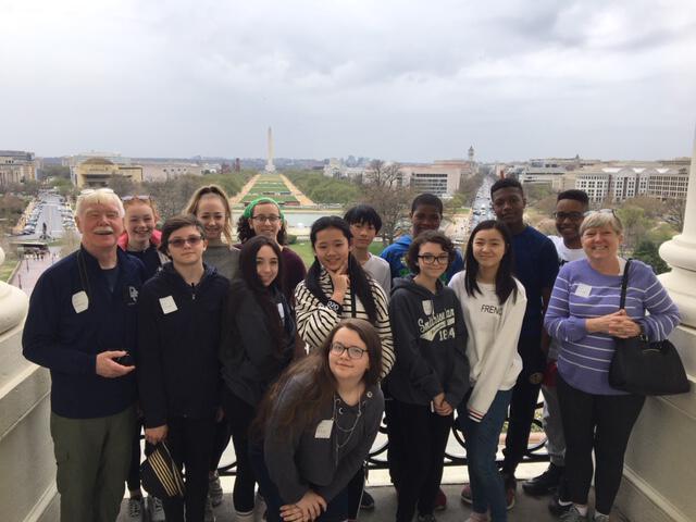 Middle School Trip to Washington DC