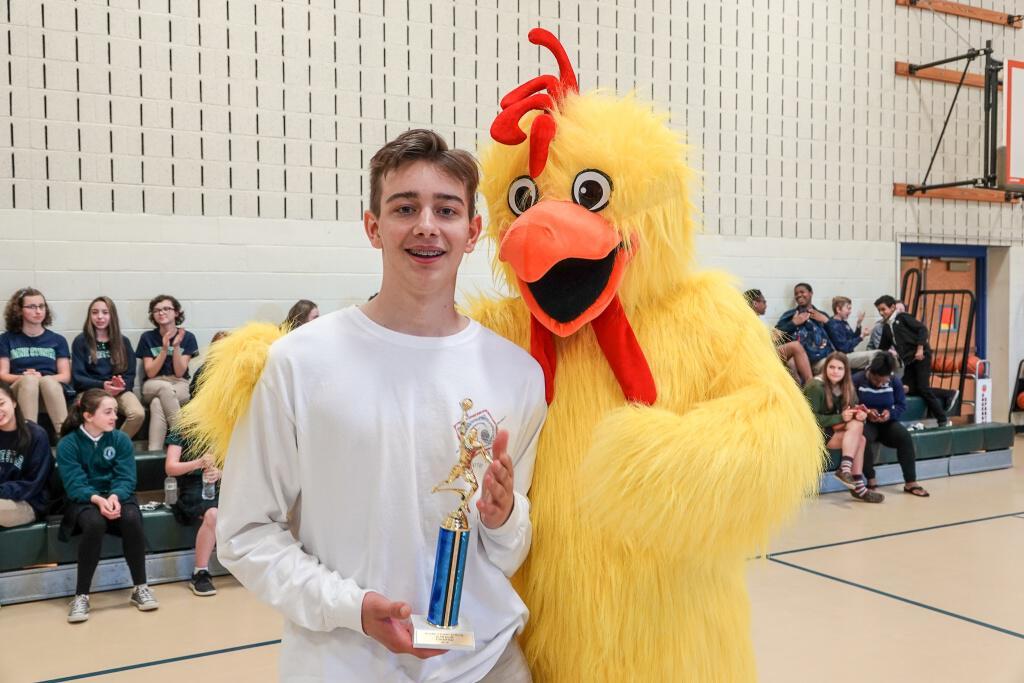 Inaugural Slam Dunk Contest