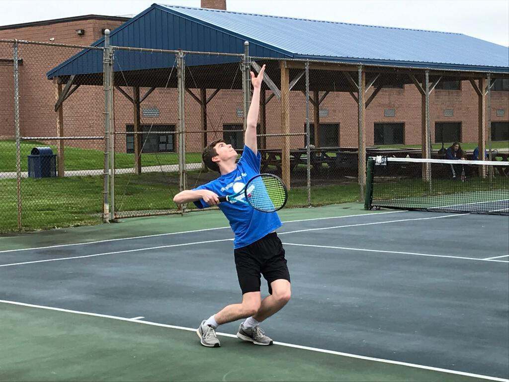 Jackson Regan earns berth Section 2 Boys Singles Tennis Tournament