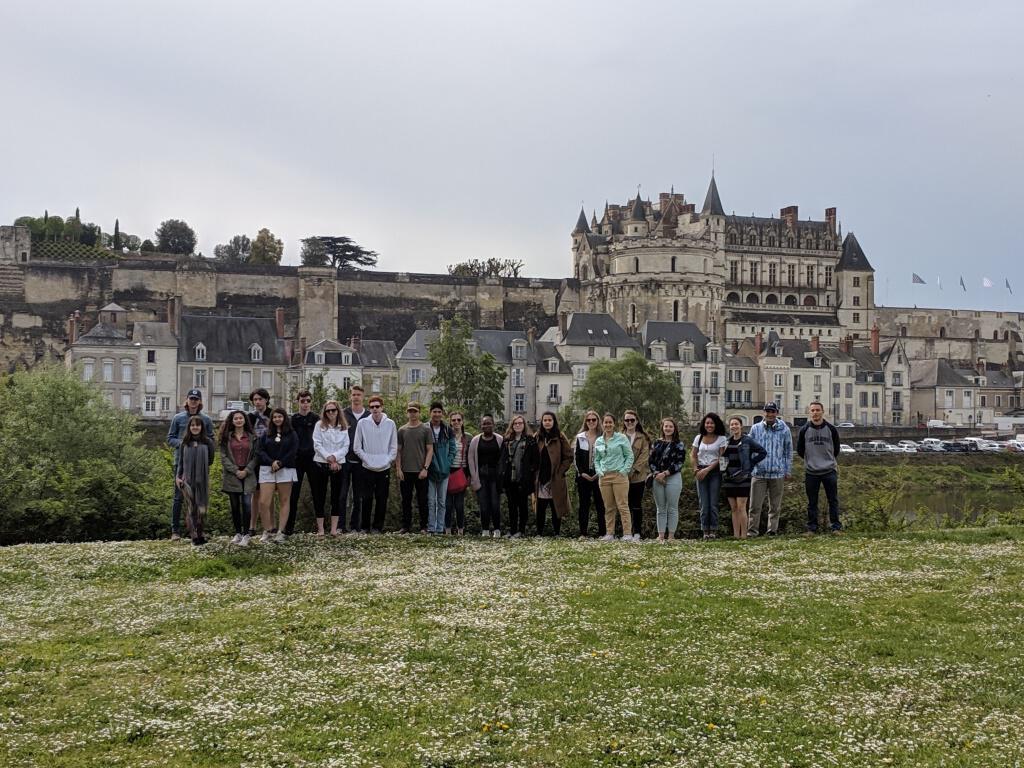 Upper School Trip to France