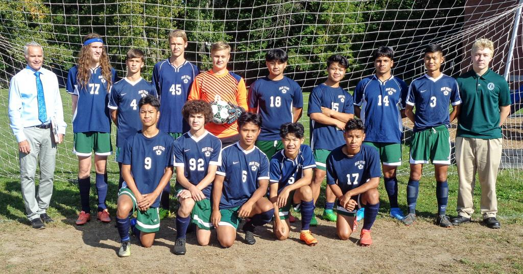 Boys Varsity Soccer Team clinches the Central Hudson Valley League Championship