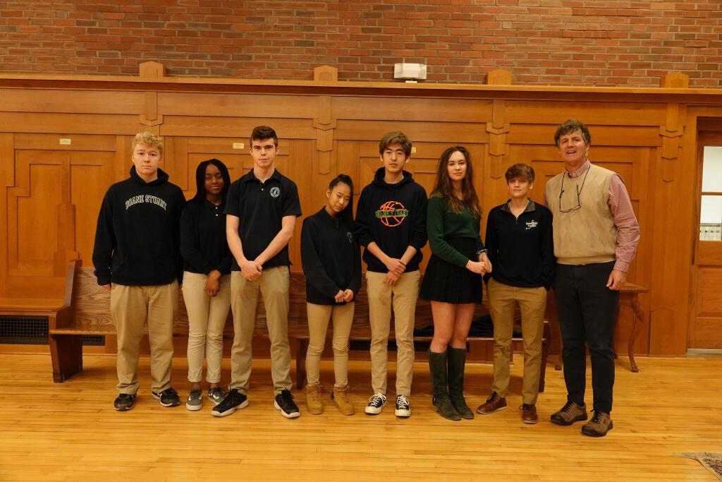 Winter Athletes Recognized this Week